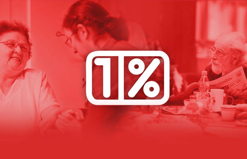1% dla Caritasu